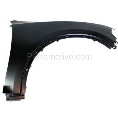 Aftermarket Replacement - FDR-1221R 2011-2019 Dodge Durango (3.6 & 5.7 Liter V6/V8 Engine) Front Fender Quarter Panel Primed Steel Right Passenger Side