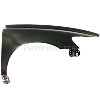 Aftermarket Replacement - FDR-1645R 2004-2011 Volvo S40 & V50 (1.9L 2.0L 2.4L 2.5L) (Sedan & Wagon 4-Door) Front Fender Quarter Panel Primed Steel Right Passenger Side