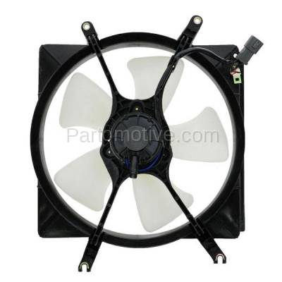 Aftermarket Replacement - FMA-1000 94 95 96 97 98 99 00 01 Acura Integra Radiator Engine Cooling Fan Motor Assembly