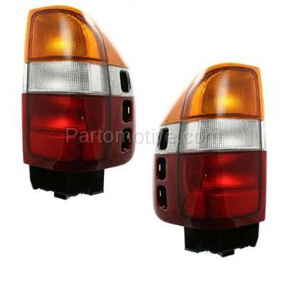 Aftermarket Replacement - TLT-1223L & TLT-1223R Passport Amigo Rodeo Taillamp Taillight Brake Light Lamp Left & Right Set PAIR
