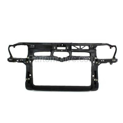 Aftermarket Replacement - RSP-1849 1999-2004 Volkswagen Jetta & 2000-2005 VW Golf (2.8 Liter V6 Engine) Front Center Radiator Support Core Assembly Primed Plastic
