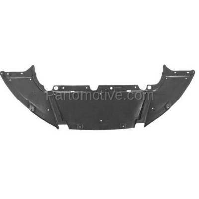 Aftermarket Replacement - ESS-1133 12-14 Focus Sedan Front Engine Splash Shield Under Cover/Air Deflector FO1228119