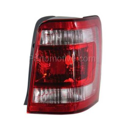 Aftermarket Auto Parts - TLT-1418RC CAPA 08-12 Escape & Hybrid Taillight Taillamp Brake Light Lamp Passenger Side R