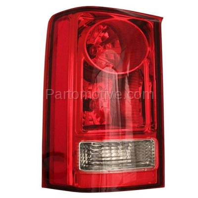 Aftermarket Auto Parts - TLT-1417LC CAPA 09-13 Honda Pilot Taillight Taillamp Rear Brake Light Lamp Driver Side LH