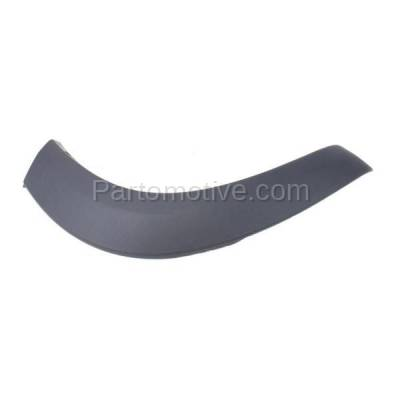 Aftermarket Replacement - FDT-1072R 01-05 RAV4 Rear Fender Molding Moulding Trim Arch Right Passenger Side TO1769101
