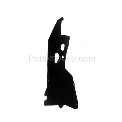 Aftermarket Replacement - ESS-1520R Engine Splash Shield Under Cover For 00-04 Frontier Pickup Right Side 648368B400