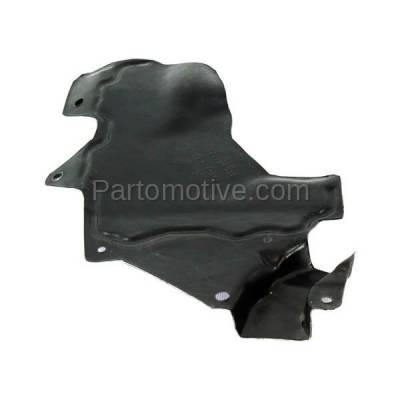 Aftermarket Replacement - ESS-1528L Front Engine Splash Shield Under Cover Fits 07-12 Sentra Driver Side 64839ET000