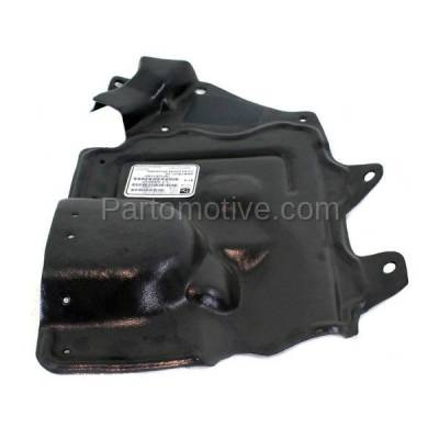 Aftermarket Replacement - ESS-1528R Front Engine Splash Shield Under Cover Fits 07-12 Sentra Right Side 64838ET000
