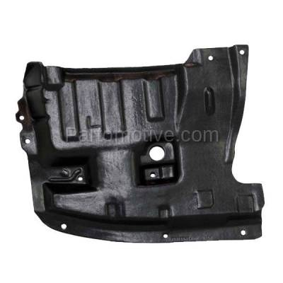 Aftermarket Replacement - ESS-1542L Front Engine Splash Shield Under Cover For 95-99 Maxima LH Driver Side NI4151101