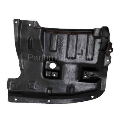 Aftermarket Replacement - ESS-1542R Front Engine Splash Shield Under Cover For 95-99 Maxima Passenger Side NI4151102
