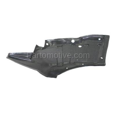 Aftermarket Replacement - ESS-1623L 96-00 RAV4 Front Engine Splash Shield Under Cover Automatic Trans LH Driver Side