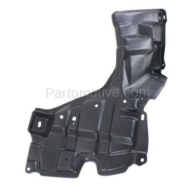 Aftermarket Replacement - ESS-1607R 09-14 xD Front Engine Splash Shield Under Cover Right Side TO1228175 5144152180