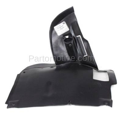 Aftermarket Replacement - ESS-1081L 97-00 5-Series Engine Splash Shield Under Cover Lower LH Driver Side 51718159425