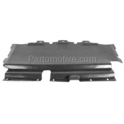 Aftermarket Replacement - ESS-1159 99-04 F-Series Pickup 4WD Lower Engine Splash Shield Under Cover/Air Deflector