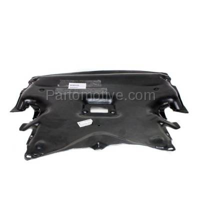 Aftermarket Replacement - ESS-1463 03-09 CLK-Class, 05-06 C55 AMG Front Engine Splash Shield Under Cover 2095241730