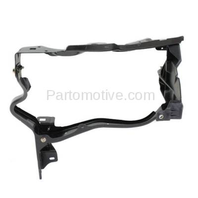 Aftermarket Replacement - RSP-1528L 2010-2013 Mercedes-Benz E-Class Sedan/Wagon Front Radiator Support Headlamp Mounting Bracket Panel Primed Steel Left Driver Side