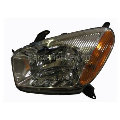 Aftermarket Auto Parts - HLT-1128LC CAPA 01-03 Rav-4 Headlight Headlamp w/o Sport Front Head Light Lamp Driver Side
