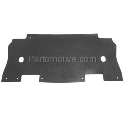 Aftermarket Replacement - ESS-1157 04-06 F150 Pickup Truck Engine Splash Shield Under Cover/Air Deflector FO1225188