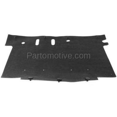 Aftermarket Replacement - ESS-1124 11-14 F150 Pickup Truck Front Lower Engine Splash Shield Under Cover BL3Z8327A