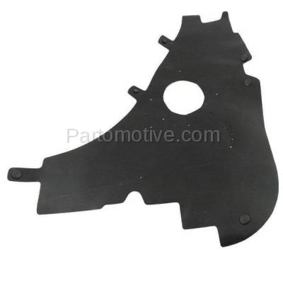 Aftermarket Replacement - ESS-1123L 09-14 F150 Pickup Truck Engine Splash Shield Under Cover Driver Side FO1228137