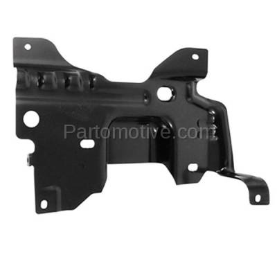 Aftermarket Replacement - BBK-1142R 2009-2014 Ford F150 Lightduty Pickup Truck Front Bumper Face Bar Retainer Mounting Plate Brace Bracket Made of Steel Right Passenger Side