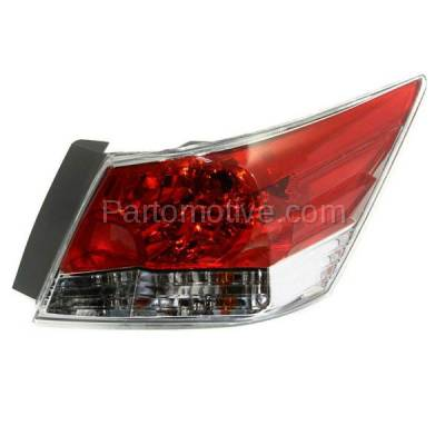 Aftermarket Auto Parts - TLT-1379RC CAPA 08-12 Accord Sedan Taillight Taillamp Rear Brake Light Lamp Passenger Side
