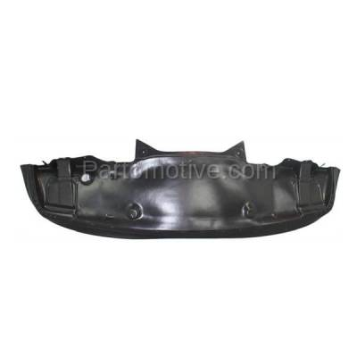 Aftermarket Replacement - ESS-1474 00-03 E-Class AWD Front Engine Splash Shield Under Cover MB1228119 2105200922