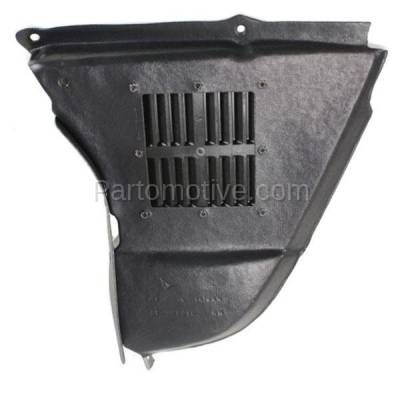 Aftermarket Replacement - ESS-1085L 04-10 5-Series w/o M-Package Engine Splash Shield Under Cover Left Driver Side