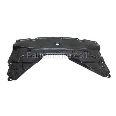 Aftermarket Replacement - ESS-1510 2014-2019 Nissan Rogue 2.5L Front Engine Under Cover Splash Shield Undercar Guard Air Deflector (with Insulation Foam) Injection Mold Plastic