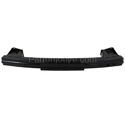 Aftermarket Replacement - BRF-1416R 2009-2014 Honda FIT (Hatchback 4-Door) Rear Bumper Impact Face Bar Crossmember Reinforcement Beam Primed Made of Steel