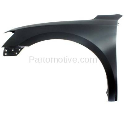 Aftermarket Replacement - FDR-1555L 2012-2015 Volkswagen Passat Sedan (1.8 & 2.0 & 2.5 & 3.6 Liter Engine) Front Fender Quarter Panel Primed Steel Left Driver Side