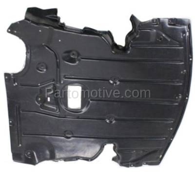 Aftermarket Replacement - ESS-1070 06-13 3-Series Front Engine Splash Shield Under Cover w/Aluminum Pad 51757129341