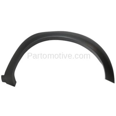 Aftermarket Replacement - FDF-1034R 10-14 F150 Pickup Truck Front Fender Flare Wheel Opening Molding Trim Right Side