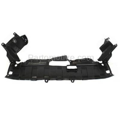 Aftermarket Replacement - ESS-1246 05-06 CRV Front Engine Splash Shield Under Cover w/o Clip HO1228131 74111S9A010