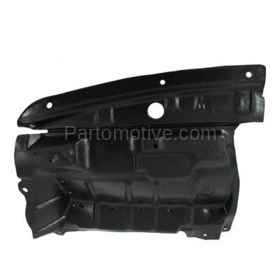 Aftermarket Replacement - ESS-1535L Front Splash Shield Under Guard For 02-03 Maxima 02-04 I35 Driver Side NI1248110