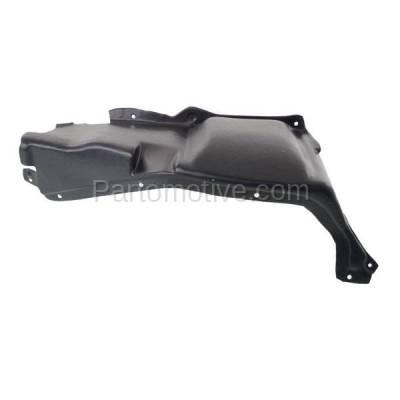 Aftermarket Replacement - ESS-1652L 06-10 Beetle 2.5L Front Engine Splash Shield Under Cover Driver Side VW1228130