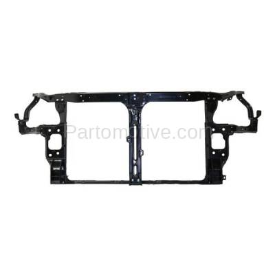 Aftermarket Replacement - RSP-1411 2011-2014 Hyundai Sonata (2.0T, Limited, SE) Sedan (2.0 Liter Turbocharged Engine) Front Center Radiator Support Core Assembly Primed Steel