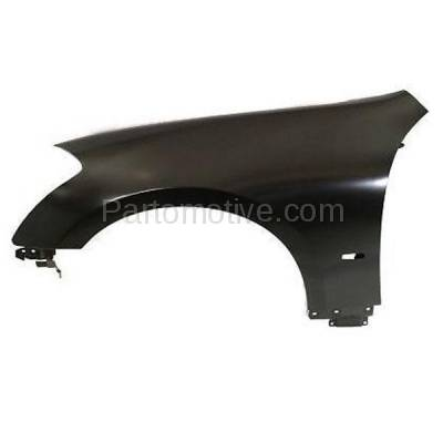 Aftermarket Replacement - FDR-1452LC CAPA 2008-2010 Infiniti M35 & M45 (3.5 & 4.5 Liter V6/V8 Engine) Front Fender Quarter Panel Primed Steel Left Driver Side
