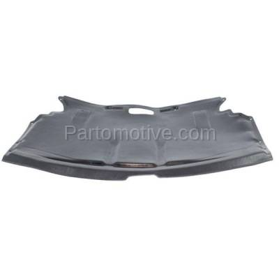 Aftermarket Replacement - ESS-1055 04-10 6-Series V8 Center Engine Splash Shield Under Cover BM1228123 51757009723
