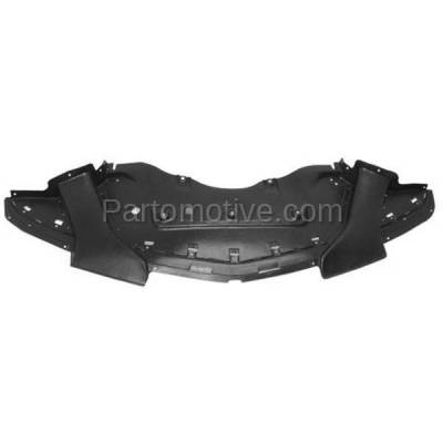 Aftermarket Replacement - ESS-1092 11-14 Charger Engine Splash Shield Under Cover Front w/Police Package CH1228118