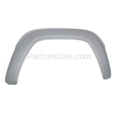 Aftermarket Replacement - FDF-1029R 02-04 Liberty Front Fender Flare Wheel Opening Molding Trim Right Passenger Side