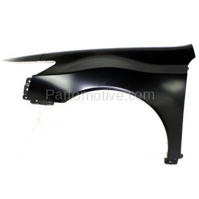 Aftermarket Replacement - FDR-1762L 2009-2014 Acura TL (Base & SH-AWD) 3.5L & 3.7L (USA Built Models) Front Fender Quarter Panel Primed Steel Left Driver Side