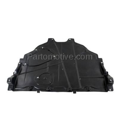 Aftermarket Replacement - ESS-1409 2014-2018 Mazda 3 & 2014-2017 Mazda 6 (Hatchback/Sedan) Front (Rear Section) Engine Under Cover Splash Shield Undercar Guard Plastic