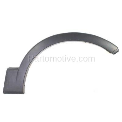 Aftermarket Replacement - FDF-1037R 03-06 Expedition Front Fender Flare Wheel Opening Molding Trim RH Passenger Side