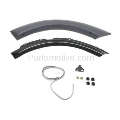 Aftermarket Replacement - FDT-1071R 01-05 RAV4 Rear Fender Molding Moulding Trim Arch Right Passenger Side TO1509101