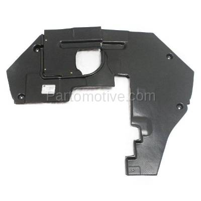 Aftermarket Replacement - ESS-1119 07-12 MKZ Engine Splash Shield Under Cover Rear Undercar FO1228111 7H6Z5410494A