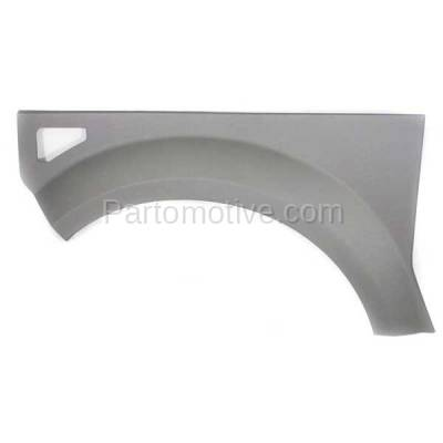 Aftermarket Replacement - FDR-1244L 2003-2005 Honda Element EX (2.4 Liter Engine) Front Fender Quarter Panel Cladding Plastic Textured Gray Left Driver Side