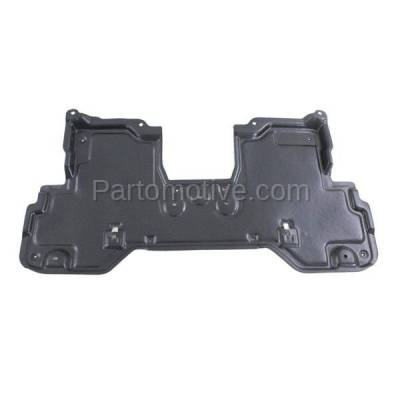 Aftermarket Replacement - ESS-1324 2011-2013 Infiniti M35h/M37/M56 & 2014-2018 Q50/Q60/Q70/Q70L (RWD) Front Engine Under Cover Splash Shield Undercar Guard Plastic