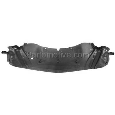 Aftermarket Replacement - ESS-1094 08-14 Challenger Engine Splash Shield Under Cover Front with Air Ducts CH1228113