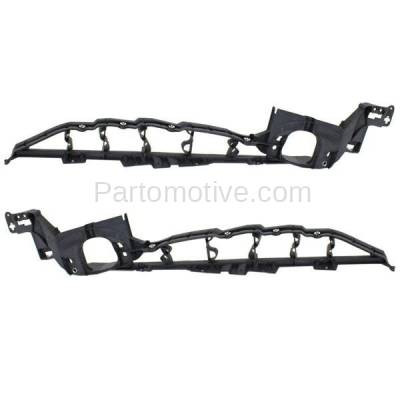 Aftermarket Replacement - FDS-1006L & FDS-1006R 07-13 X5 & 08-14 X6 Front Fender Brace Support Bracket Upper Left Right PAIR SET